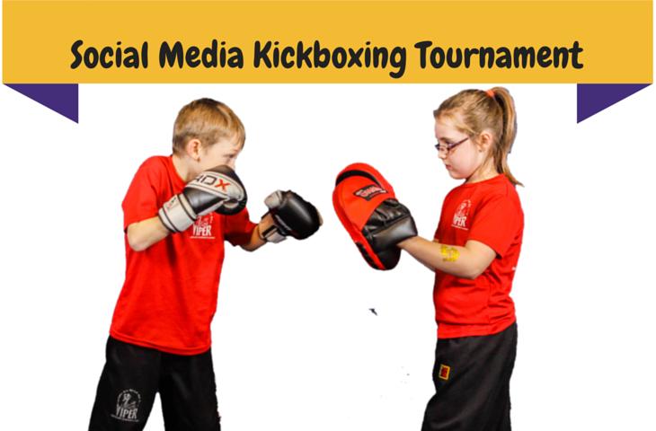3 rounds of Social Media Kickboxing