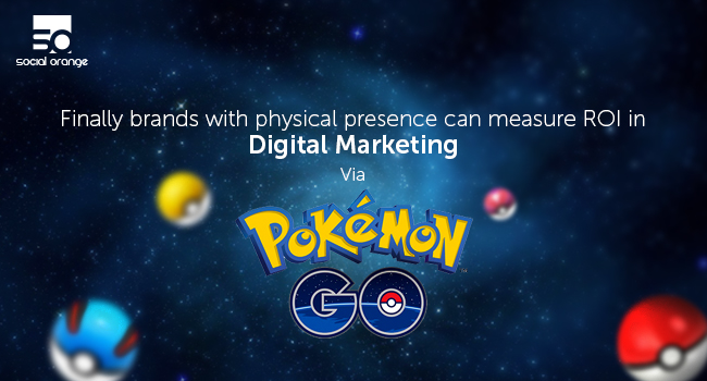 Physical Stores can measure ROI by advertising via Pokemon' GO!