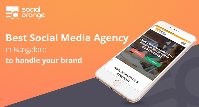 Best Social Media Agency in Bangalore to handle your brand