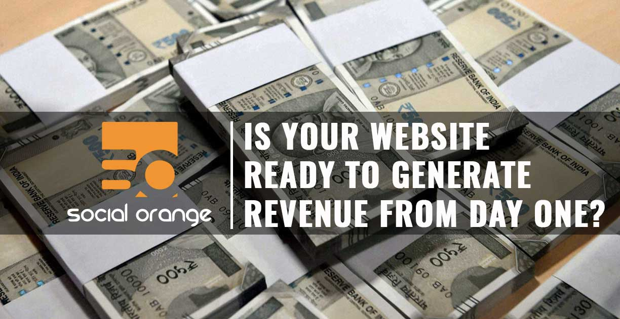 How to generate revenue from your website from day one