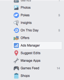 Ads Manager in Facebook