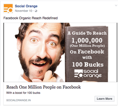Facebook Organic Reach with few bucks
