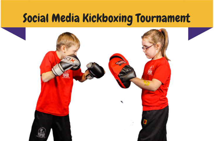 3 rounds of Social Media Kickboxing
