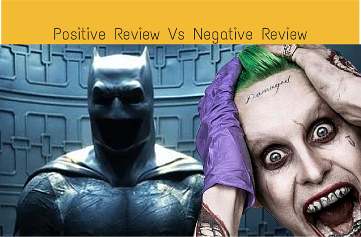 Positive Review Vs Negative Review