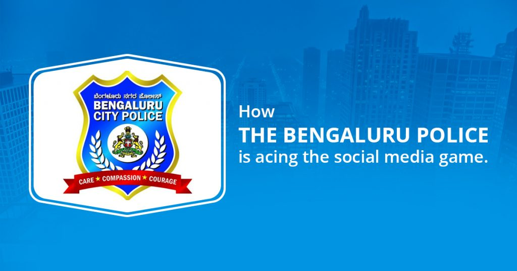 Bangaluru City police social Media
