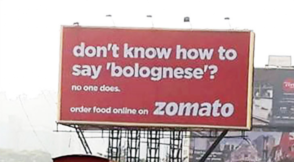 Zomato Bolognese
