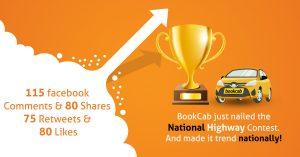 Bookcab social media contest