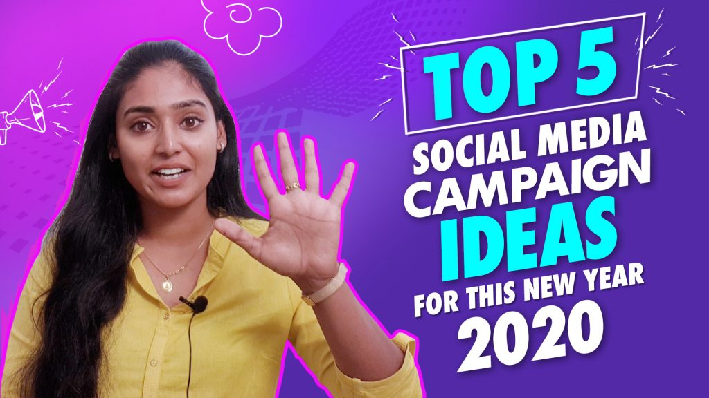 Top 5 Social Media Campaign Ideas for this New Year 2020