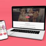 bygrandma website design socialorange portfolio