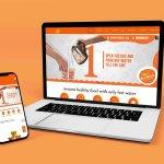 desimealz website design socialorange portfolio