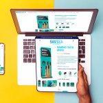 savsea website design socialorange portfolio