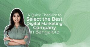 best digital marketing company in bangalore